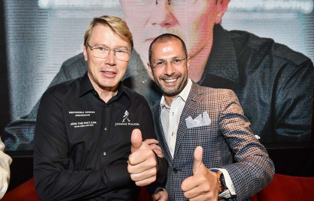 Mika Hakkinen a revenit în România în cadrul campaniei Join The Pact: Never Drink and Drive - Poza 9