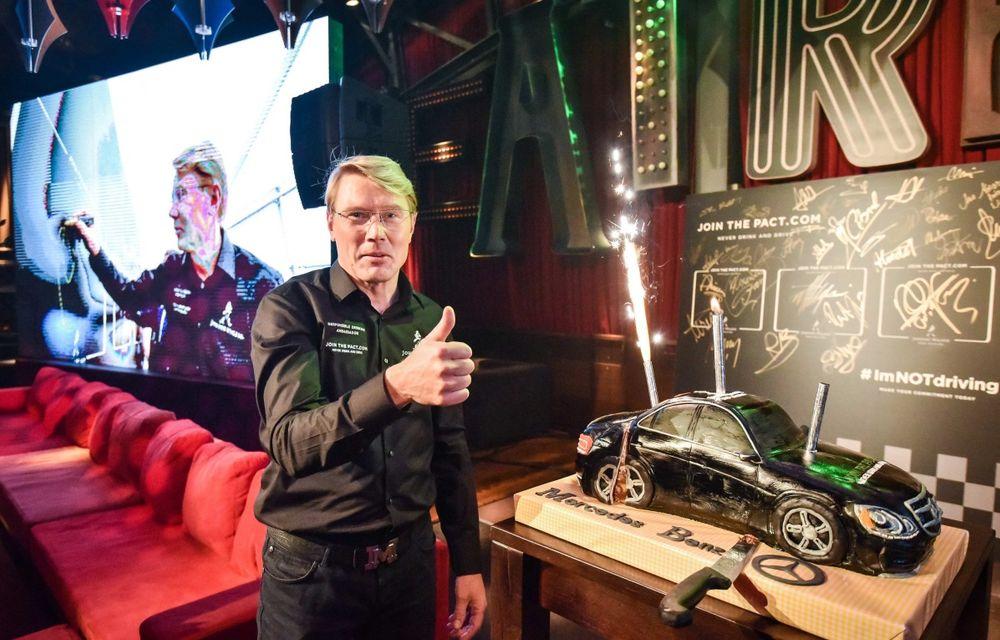 Mika Hakkinen a revenit în România în cadrul campaniei Join The Pact: Never Drink and Drive - Poza 10