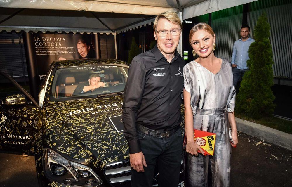 Mika Hakkinen a revenit în România în cadrul campaniei Join The Pact: Never Drink and Drive - Poza 8