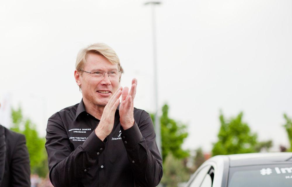 Mika Hakkinen a revenit în România în cadrul campaniei Join The Pact: Never Drink and Drive - Poza 13