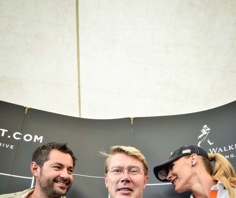 Mika Hakkinen a revenit în România în cadrul campaniei Join The Pact: Never Drink and Drive - Poza 14