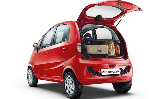 Tata Nano GenX: a doua generaţie a celei mai ieftine maşini din lume vine cu portbagaj şi cutie automată - Poza 4