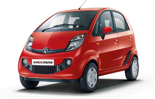 Tata Nano GenX: a doua generaţie a celei mai ieftine maşini din lume vine cu portbagaj şi cutie automată - Poza 1