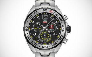 TAG Heuer a lansat patru ceasuri noi, dedicate celebrului pilot Ayrton Senna