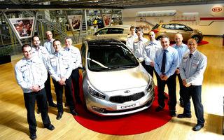 Kia cee`d atinge primul său record european: un milion de maşini produse