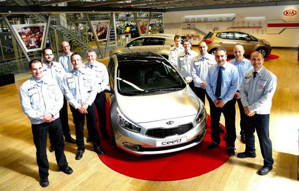Kia cee`d atinge primul său record european: un milion de maşini produse - Poza 1