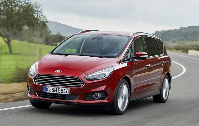 Test drive Ford S-Max