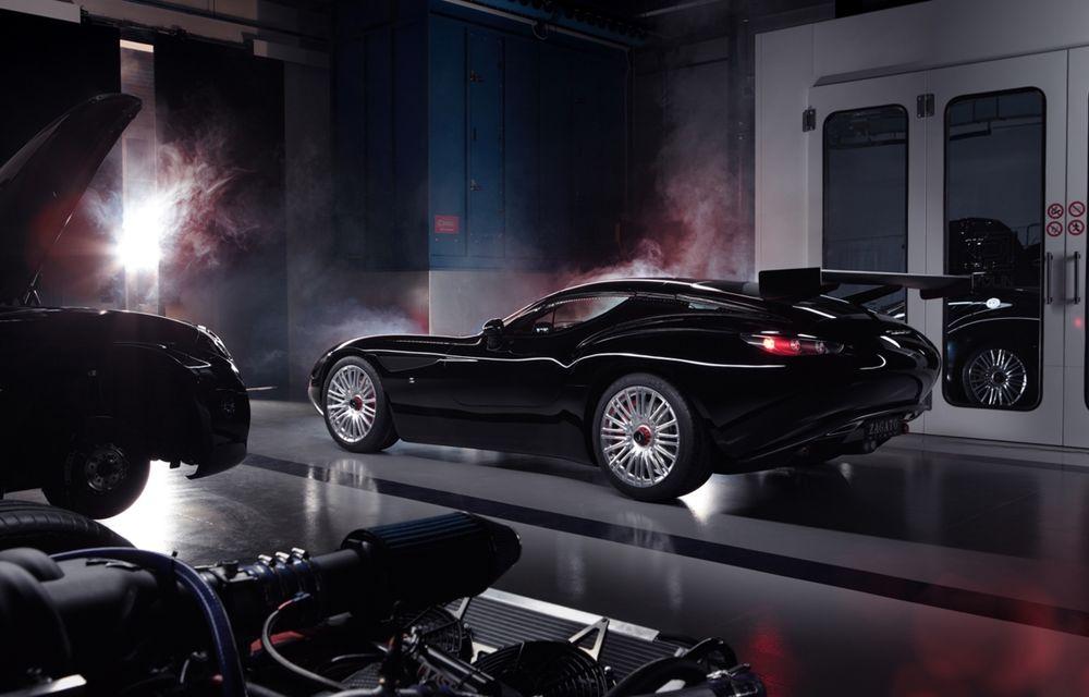 Zagato îl prezintă în acest weekend pe Mostro, un coupe în serie limitată care celebrează centenarul Maserati - Poza 3