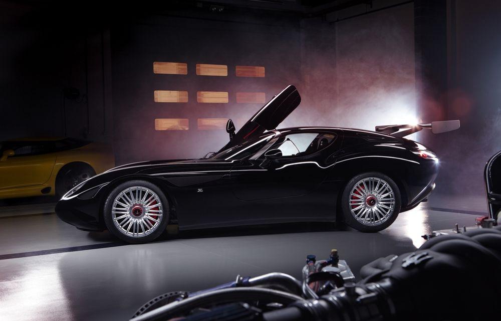 Zagato îl prezintă în acest weekend pe Mostro, un coupe în serie limitată care celebrează centenarul Maserati - Poza 1
