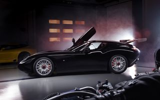Zagato îl prezintă în acest weekend pe Mostro, un coupe în serie limitată care celebrează centenarul Maserati