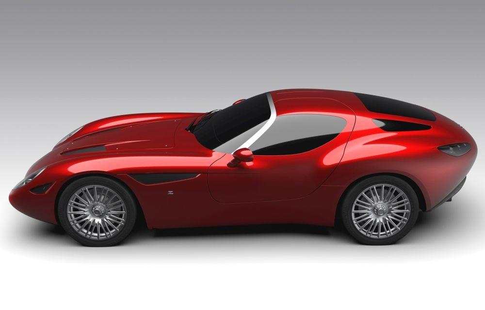 Zagato îl prezintă în acest weekend pe Mostro, un coupe în serie limitată care celebrează centenarul Maserati - Poza 5