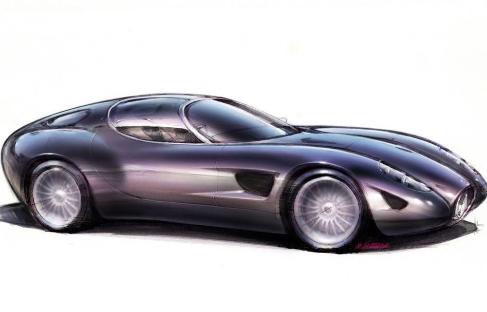 Zagato îl prezintă în acest weekend pe Mostro, un coupe în serie limitată care celebrează centenarul Maserati - Poza 7