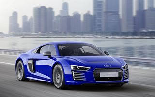 Audi a prezentat un concept cu tehnologie de conducere autonomă bazat pe modelul R8 e-tron