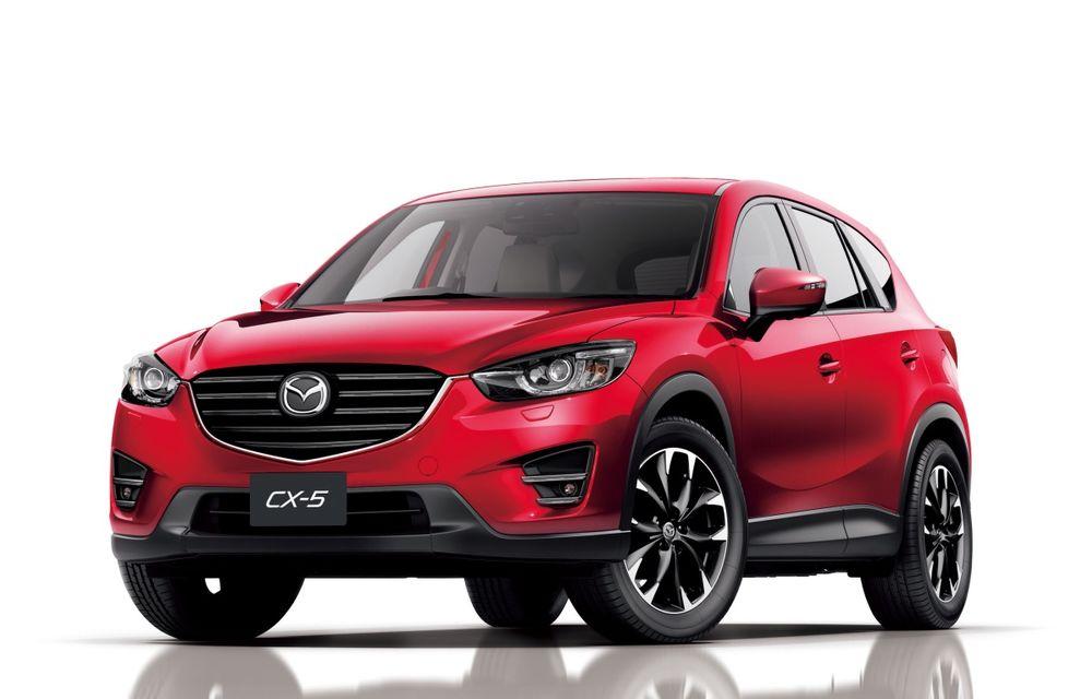 Producţia modelului Mazda CX-5 a depăşit un milion de exemplare - Poza 1
