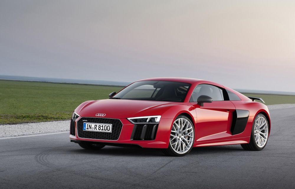 Audi R8 şi Lamborghini Huracan ar putea primi un motor turbo de 2.5 litri - Poza 1