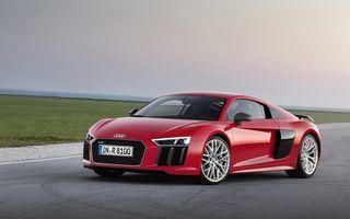 Audi R8 şi Lamborghini Huracan ar putea primi un motor turbo de 2.5 litri