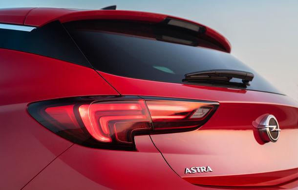 Noul Opel Astra: primele imagini și informații oficiale cu noua generație a modelului compact german - Poza 11