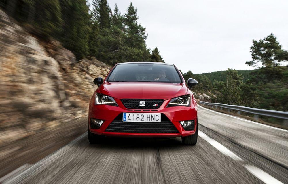 Seat Ibiza Cupra facelift renunță la motorul 1.4 TSI pentru un 1.8 TSI de 192 CP - Poza 1