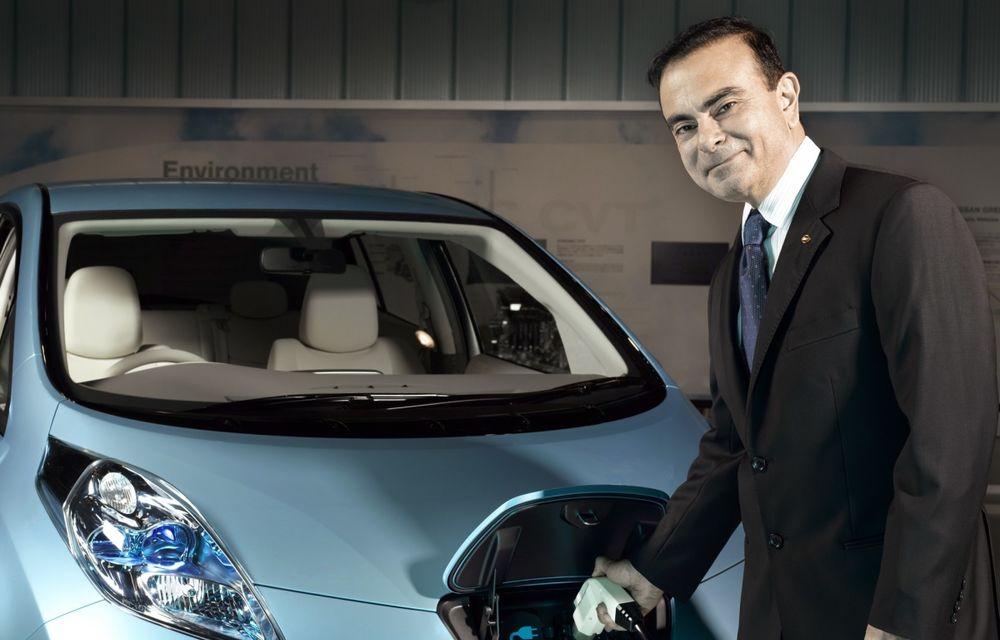 """Carlos Ghosn: """"Alianța Renault-Nissan nu își caută noi parteneri"""" - Poza 1"""