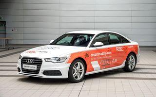 Audi A6 2.0 TDI ultra pornește într-o tentativă de record mondial: cele mai multe țări parcurse cu un plin