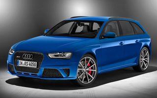 Audi RS4 Avant și RS5 Coupe și Cabrio părăsesc producția în așteptarea noului A4