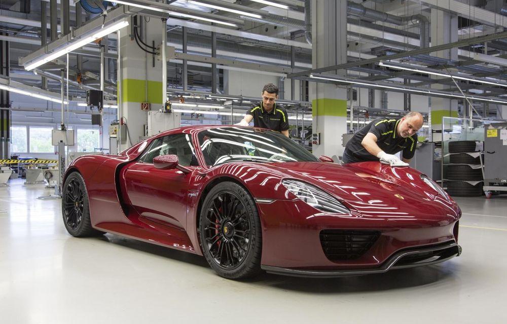 Porsche a epuizat producția lui 918 Spyder - Poza 1