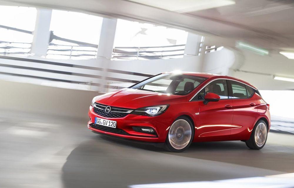 Opel Astra 1.4 Turbo: 150 CP și consum mixt de 4.9 litri la sută - Poza 1