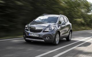 Opel Mokka primește un motor 1.6 CDTI de 110 CP și alte noutăți