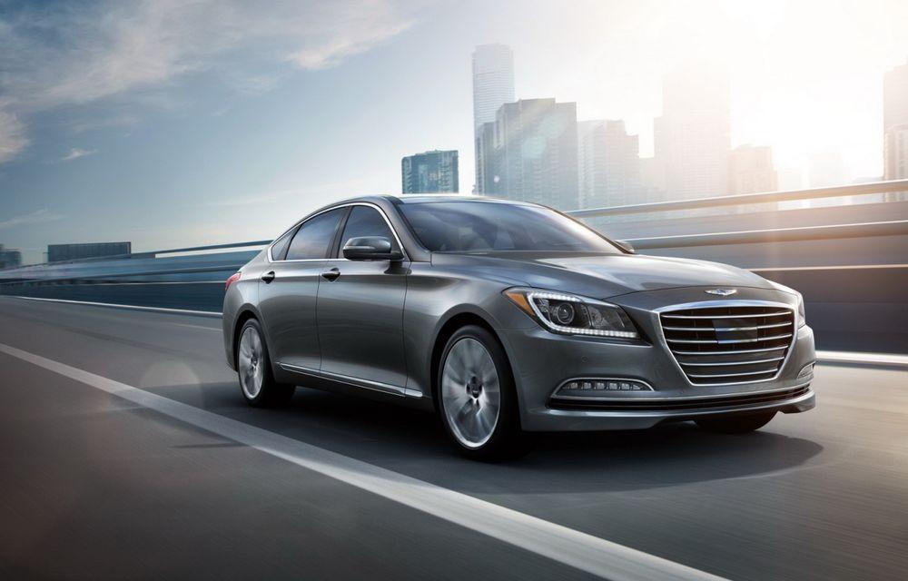 Hyundai Genesis Sedan a atins pragul de 100.000 de unități vândute în 18 luni - Poza 1
