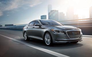 Hyundai Genesis Sedan a atins pragul de 100.000 de unități vândute în 18 luni