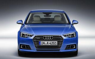 Audi A4 a primit o nouă generație: imagini și informații oficiale