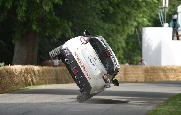 Nissan Juke Nismo RS și-a adjudecat un nou record la mersul pe două roți - Poza 2