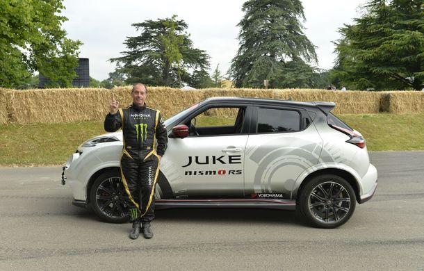 Nissan Juke Nismo RS și-a adjudecat un nou record la mersul pe două roți - Poza 4