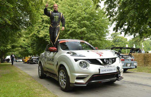 Nissan Juke Nismo RS și-a adjudecat un nou record la mersul pe două roți - Poza 3