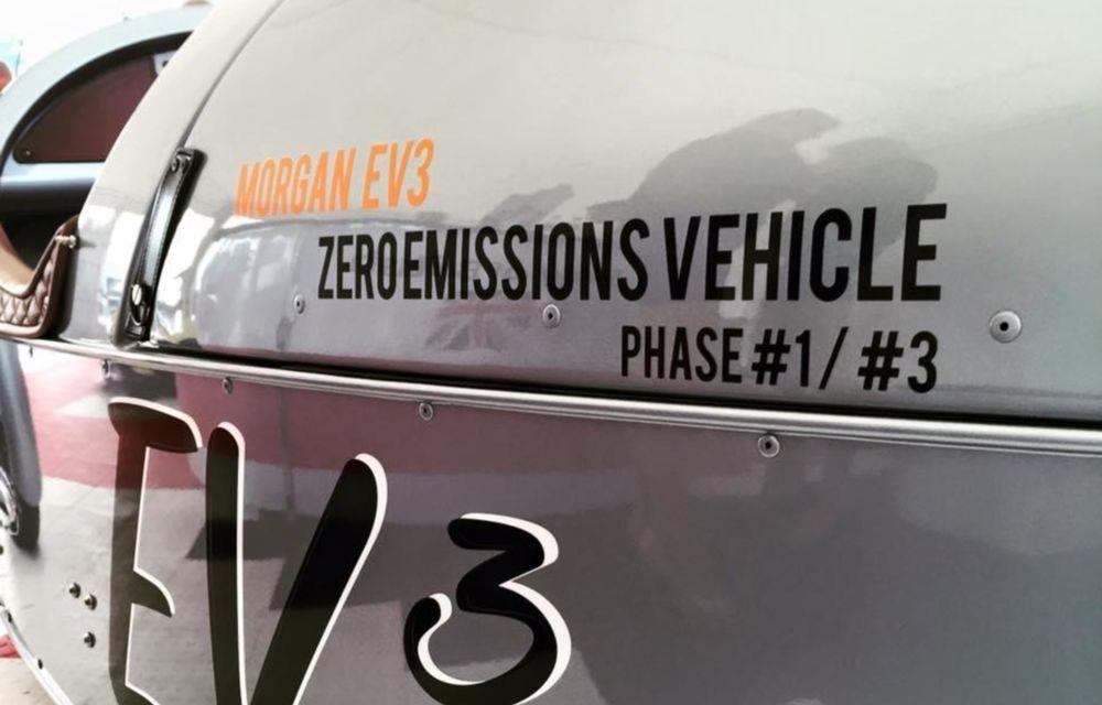 Morgan, producătorul britanic de mașini retro, pregătește un model electric - Poza 3