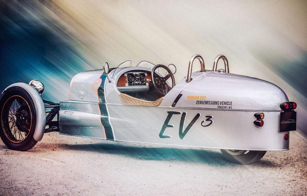 Morgan, producătorul britanic de mașini retro, pregătește un model electric - Poza 2