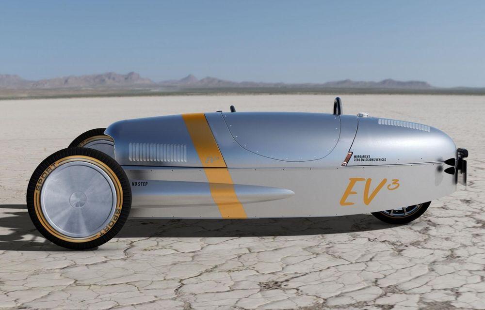 Morgan, producătorul britanic de mașini retro, pregătește un model electric - Poza 4