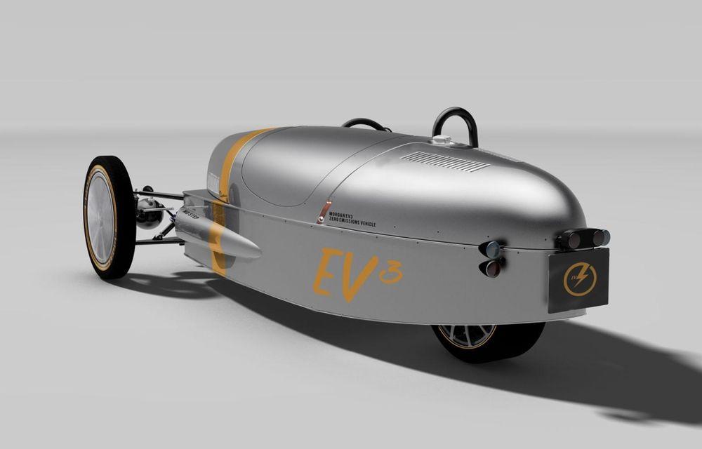 Morgan, producătorul britanic de mașini retro, pregătește un model electric - Poza 1