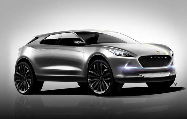 """Lotus: """"SUV-ul nostru va sosi în 2019 și va fi mai agil decât Porsche Macan"""" - Poza 1"""