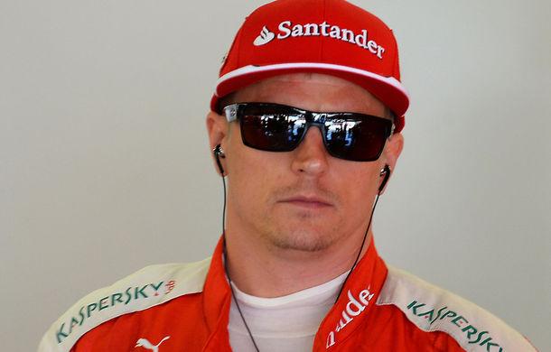 """Ferrari: """"Raikkonen, afectat de speculaţiile din presă despre viitorul său"""" - Poza 1"""