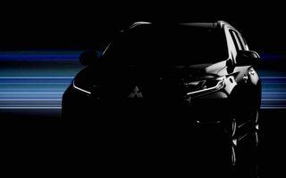 Mitsubishi Pajero va primi un înlocuitor în 1 august. Iată primul teaser