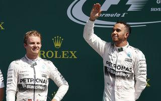 Video: Cum a sărbătorit Mercedes victoria de la Silverstone