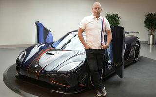 """Koenigsegg se gândește să fabrice și mașini """"obișnuite"""""""