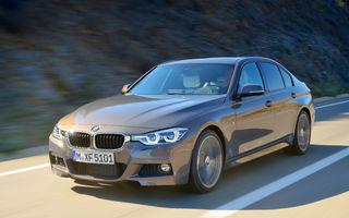 Prețuri BMW Seria 3 facelift în România: modelul german pornește de la 31.900 de euro