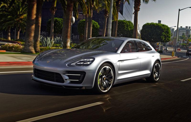 Porsche ar putea dezvălui conceptul unui sedan electric, rival cu Tesla Model S - Poza 1