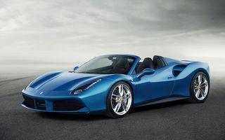 Ferrari 488 Spider: 670 CP pentru noul model cabrio al italienilor