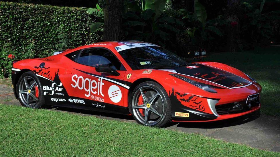 Un italian își propune să stabilească un record de viteză pe Transfăgărășan cu un Ferrari 458 - Poza 9