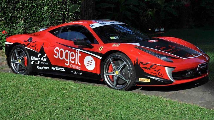 Un italian își propune să stabilească un record de viteză pe Transfăgărășan cu un Ferrari 458 - Poza 10