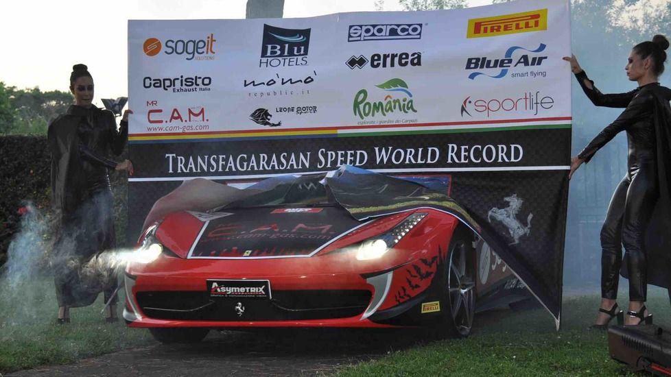 Un italian își propune să stabilească un record de viteză pe Transfăgărășan cu un Ferrari 458 - Poza 6