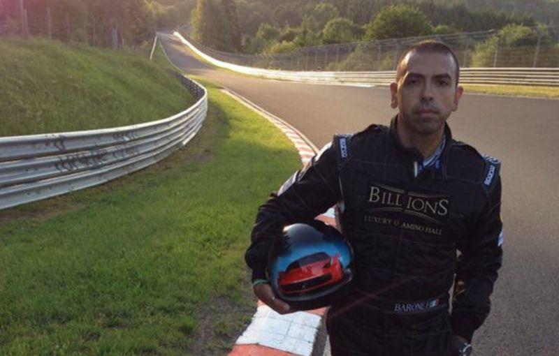 Un italian își propune să stabilească un record de viteză pe Transfăgărășan cu un Ferrari 458 - Poza 3